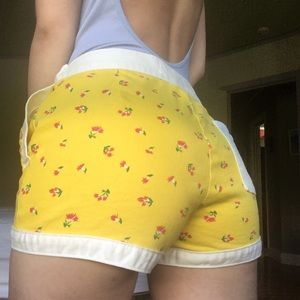🛵 Urban Outfitters Gidget Yellow Board Shorts 🛵